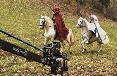 Le château de La Baronnière ouvre ses portes pour des tournages de films et des sessions photos.
