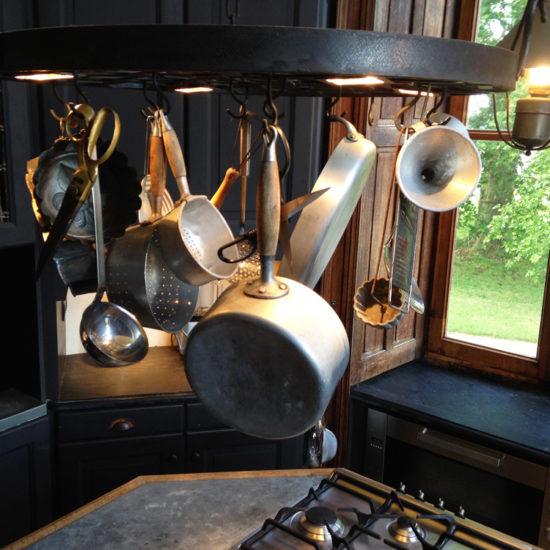 Photos de La Baronnière : la cuisine du château