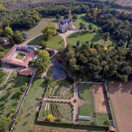 Photos du du château de La Baronnière : le domaine du du ciel