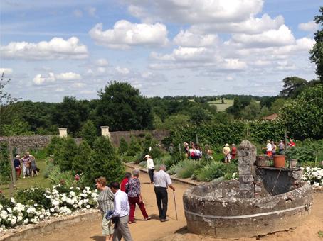 En juin 2017, les visiteurs ont découvert ou redécouvert le jardin de la Baronnière