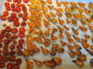 La Baronnière - Tomates séchées sorties du four