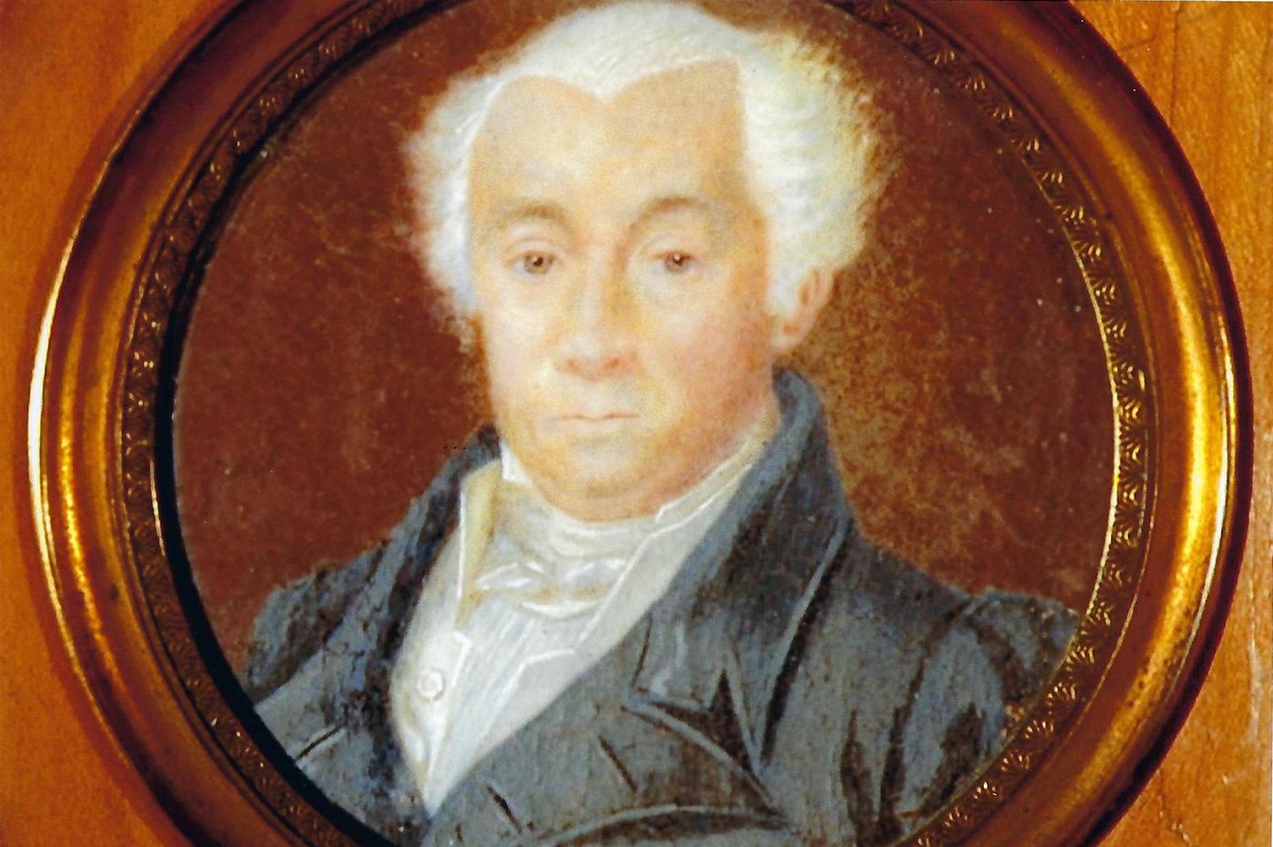 Miniature peinture de Jean-Joseph Arnous Rivière