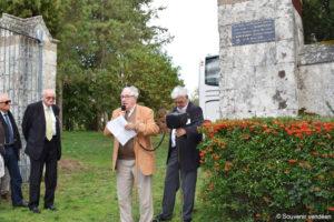 Guerre de Vendée : la grille d'entrée de La Baronnière