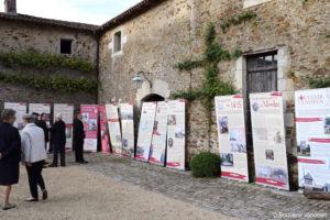 Guerre de Vendée : la cour carrée du château de La Baronnière