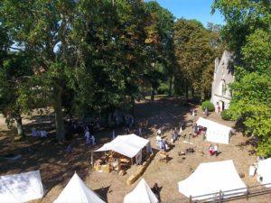 Le bivouac des Vendéens et des Chouans en septembre 2018 à La Baronnière