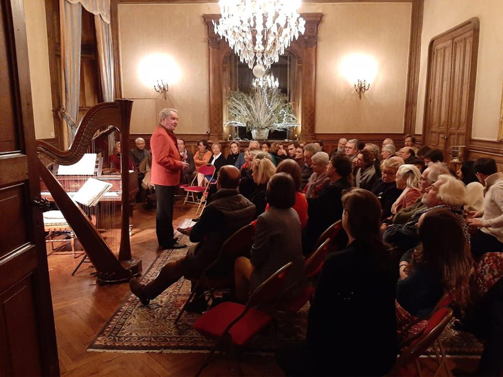 Concert de musique classique au château de La Baronnière