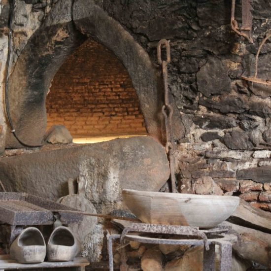Photos de La Baronnière : le four à pain de la vieille boulangerie