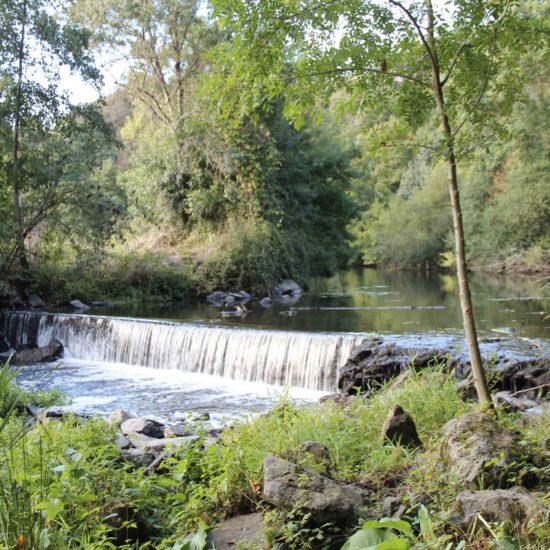 Photos de La Baronnière : la rivière Èvre passe par le site de Courossé
