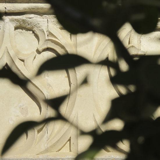 Photos de La Baronnière : un ornement de la façade du château