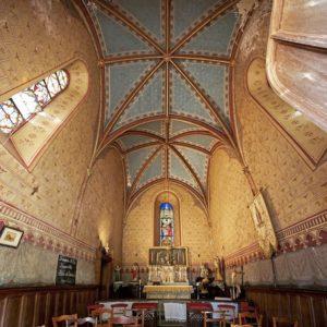 La chapelle XIXème : découvrez les lieux remarquables et l'histoire du château de La Baronnière.