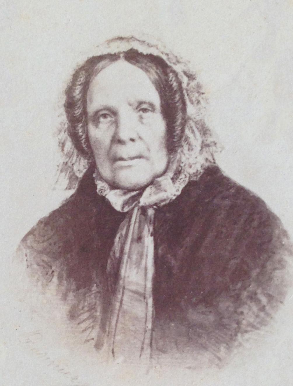 Photo de Marie-Félicité Arnous Rivière, née Courault