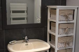Le cottage de La Baronnière dispose de deux salles de bains