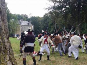 Escarmouches entre Vendéens et républicains