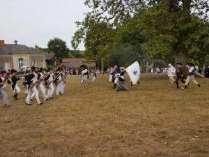 Reconstitution des Guerres de Vendée lors des Journées du patrimoine à La Baronnière