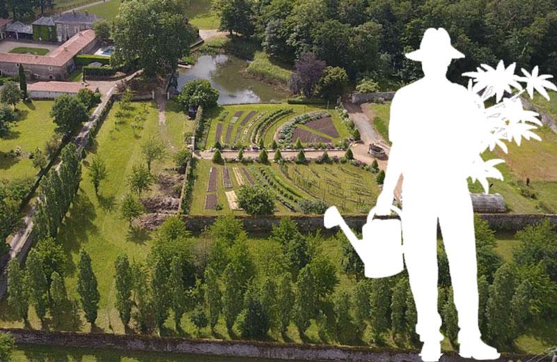 Cherche jardinier à temps plein à La Baronnière