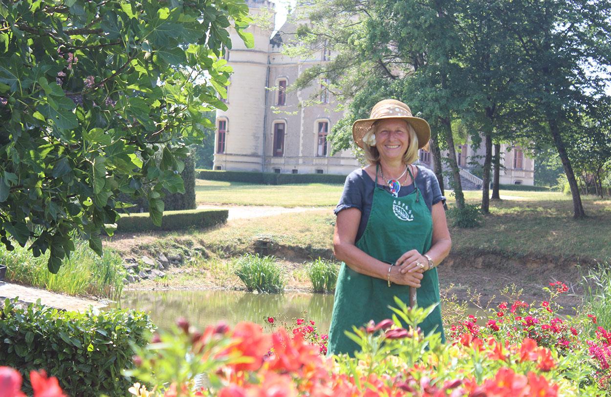Visite guidée au jardin du château de La Baronnière